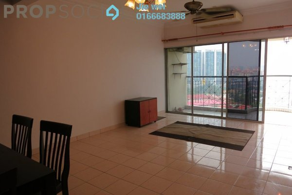 For Rent Condominium at Union Heights, Old Klang Road Freehold Semi Furnished 2R/2B 1.8k
