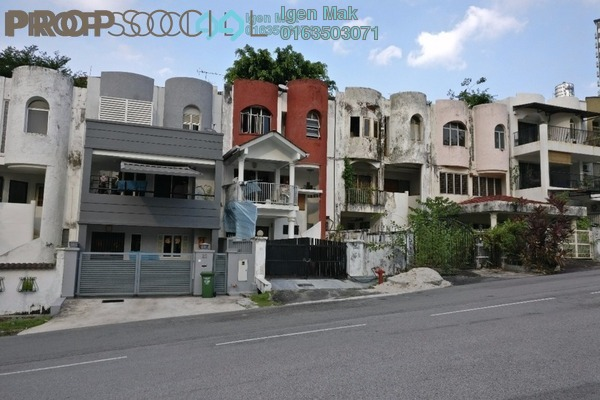 For Sale Terrace at Taman Seputeh, Seputeh Freehold Semi Furnished 5R/4B 1.3m