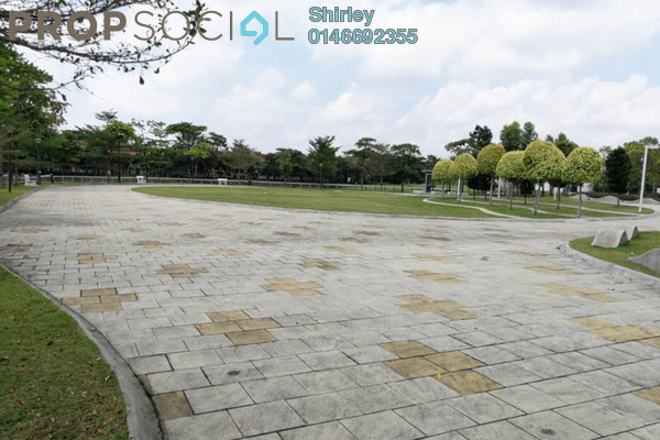 For Sale Terrace at Lake Edge, Puchong Freehold Semi Furnished 5R/4B 1.38m
