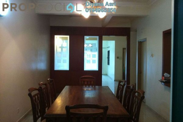 For Rent Terrace at Kubah, Bukit Jelutong Freehold Semi Furnished 4R/4B 2.5k