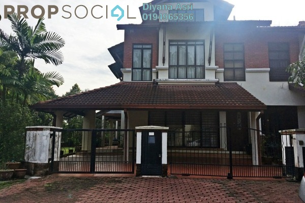 For Rent Terrace at Birai, Bukit Jelutong Freehold Semi Furnished 5R/5B 3k