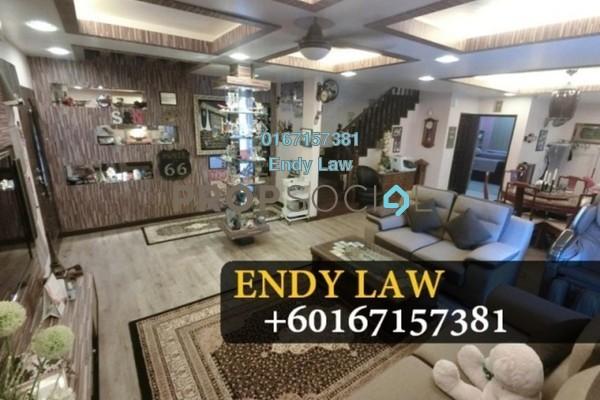 For Sale Terrace at Taman Perling, Iskandar Puteri (Nusajaya) Freehold Semi Furnished 5R/3B 990k