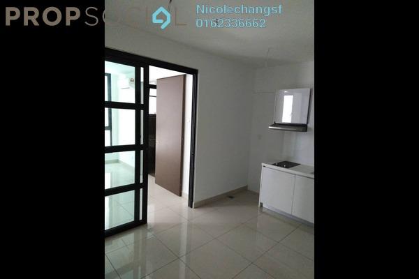For Rent Condominium at H2O Residences, Ara Damansara Freehold Semi Furnished 0R/1B 1.3k