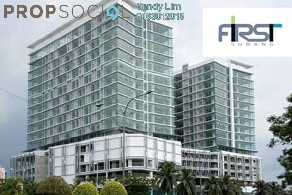 For Rent Office at First Subang, Subang Jaya Freehold Semi Furnished 0R/0B 2k
