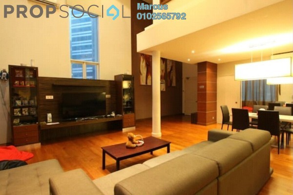 For Rent Condominium at Seri Bukit Ceylon, Bukit Ceylon Freehold Fully Furnished 2R/1B 6k