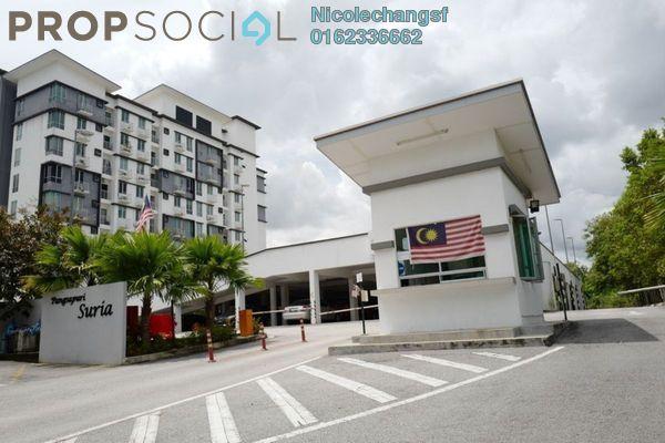 For Rent Condominium at Suria Apartment, Kota Damansara Freehold Unfurnished 3R/2B 1.5k