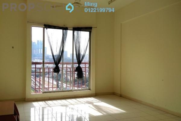 For Rent Apartment at TAR Villa, Setapak Freehold Semi Furnished 3R/2B 1.3k