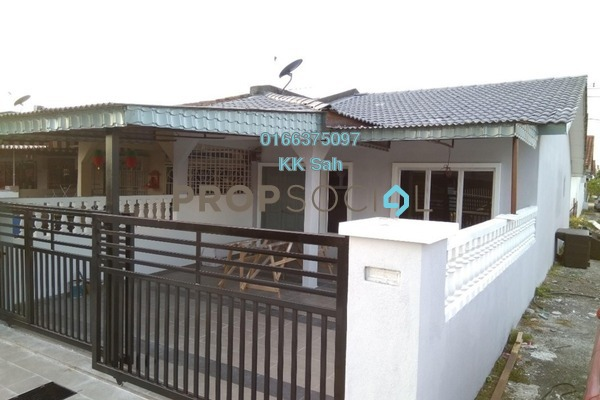 For Sale Terrace at Taman Sentosa, Klang Freehold Semi Furnished 3R/2B 337k