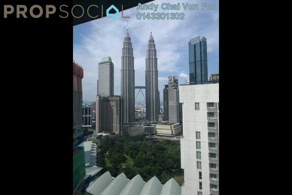 For Rent Serviced Residence at The Ruma, KLCC Freehold Semi Furnished 3R/4B 7.8k