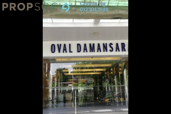 For Rent Office at Oval Tower, TTDI Freehold Semi Furnished 0R/1B 3.9k