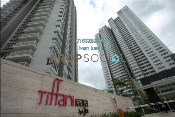 For Rent Condominium at Tiffani Kiara, Mont Kiara Freehold Fully Furnished 4R/3B 5.5k