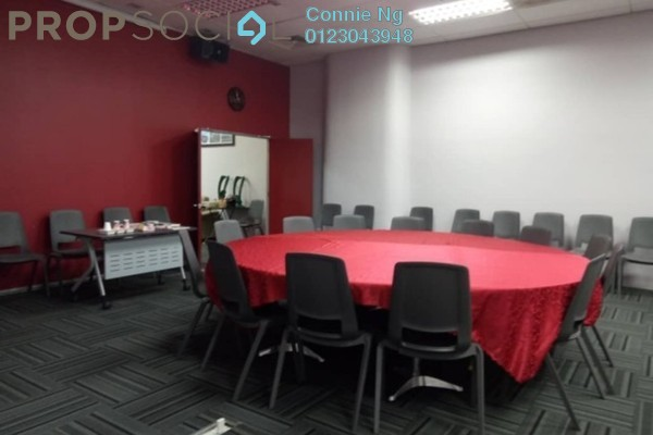 For Rent Office at Oval Tower, TTDI Freehold Semi Furnished 0R/1B 4.5k