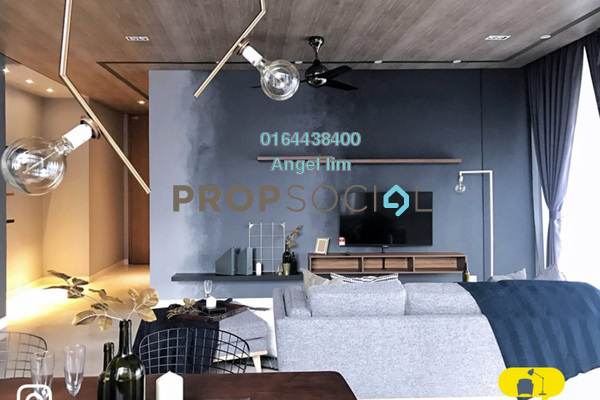 For Sale Condominium at The Troika, KLCC Freehold Fully Furnished 1R/1B 1.7m