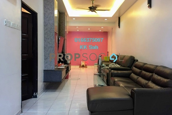 For Sale Terrace at Taman Palm Grove, Klang Freehold Semi Furnished 3R/2B 478k