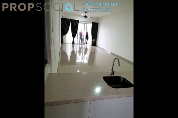 For Rent Condominium at Villa Crystal, Segambut Freehold Semi Furnished 3R/3B 2k
