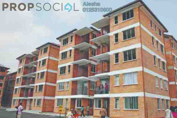 For Sale Apartment at Alam Budiman, Shah Alam Freehold Unfurnished 0R/0B 180k