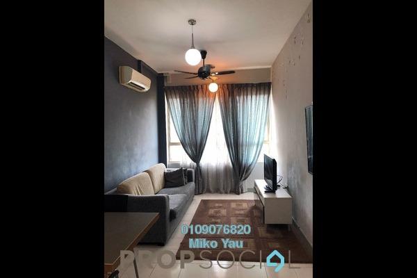 For Rent Condominium at Ritze Perdana 1, Damansara Perdana Freehold Fully Furnished 1R/1B 1.5k