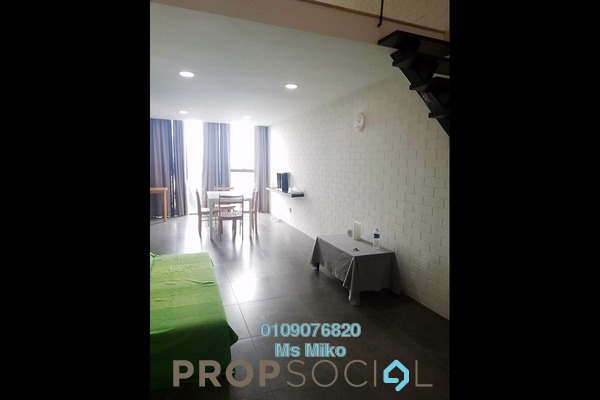 For Rent Duplex at Empire Damansara, Damansara Perdana Freehold Fully Furnished 1R/2B 1.55k