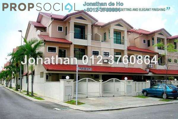 For Sale Townhouse at Parkville Garden Townhouse, Sunway Damansara Leasehold Semi Furnished 3R/4B 1m