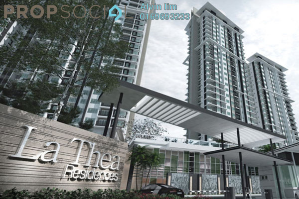 For Rent Condominium at La Thea Residences, 16 Sierra Freehold Unfurnished 2R/2B 1.1k