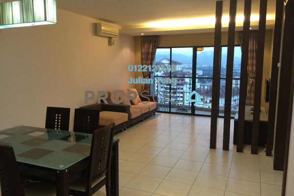 For Sale Condominium at Changkat View, Dutamas Leasehold Semi Furnished 3R/2B 490k