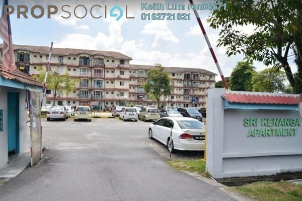 For Rent Apartment at Sri Kenanga Apartment, Bandar Puchong Jaya Freehold Fully Furnished 3R/2B 1k