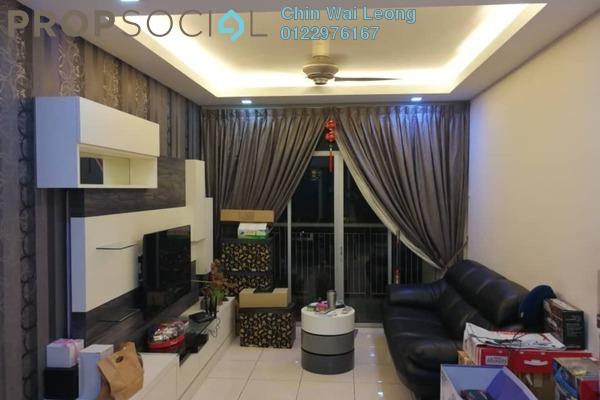 For Sale Condominium at Perdana View, Damansara Perdana Leasehold Fully Furnished 3R/2B 547k