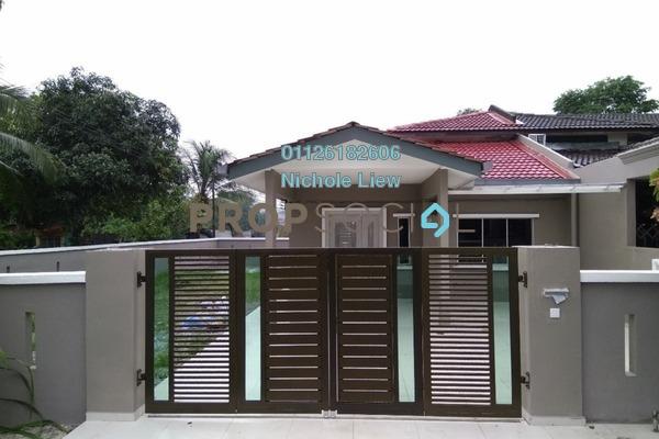 For Sale Terrace at Taman Sentosa, Klang Freehold Semi Furnished 4R/2B 465k