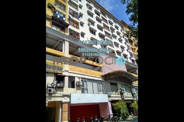 For Sale Apartment at Section 16, Shah Alam Leasehold Semi Furnished 3R/2B 279k