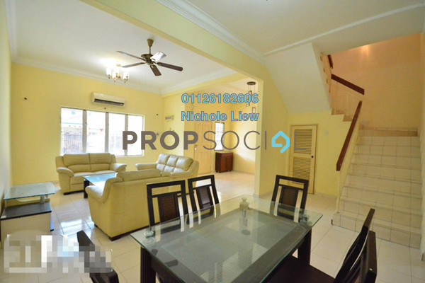 For Rent Superlink at Bandar Puteri Klang, Klang Freehold Fully Furnished 4R/3B 1.5k