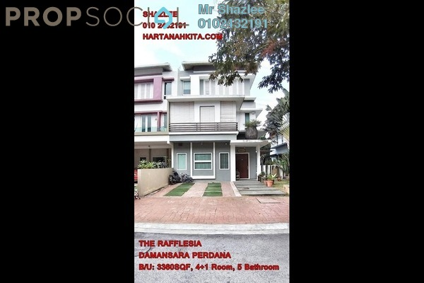 For Sale Semi-Detached at The Rafflesia, Damansara Perdana Freehold Fully Furnished 5R/5B 2.5m