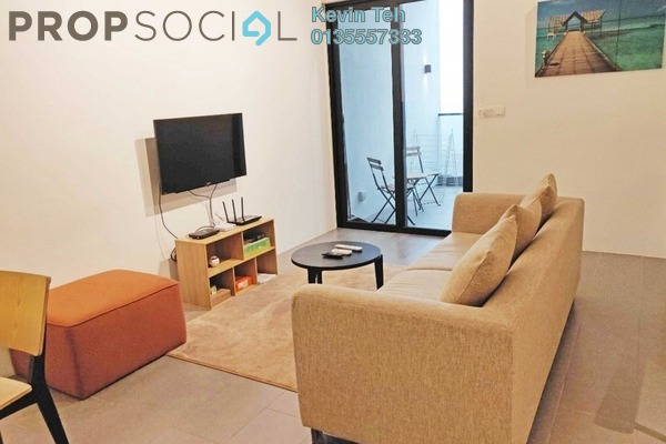 For Rent Condominium at The Establishment, Brickfields Freehold Fully Furnished 2R/2B 3k