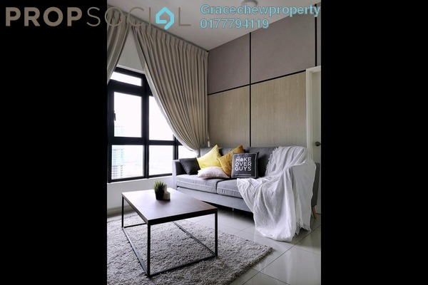 For Rent Condominium at The Meridin @ Medini, Medini Freehold Fully Furnished 1R/1B 1.3k