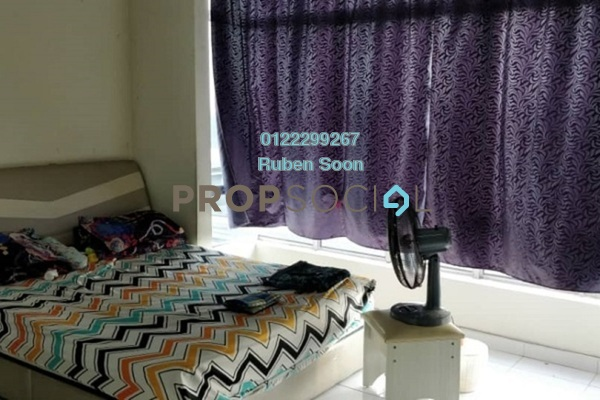 For Rent Apartment at Damai Apartment, Shah Alam Freehold Fully Furnished 3R/2B 1.3k