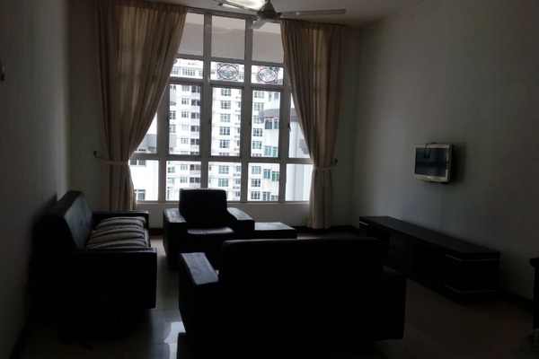 For Rent Condominium at Scott Sentral, Brickfields Freehold Fully Furnished 2R/1B 2.4k