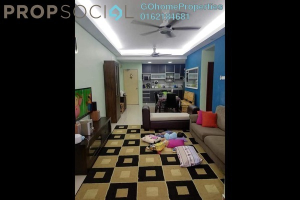 For Sale Condominium at Nilam Puri, Bandar Bukit Puchong Freehold Semi Furnished 3R/2B 390k