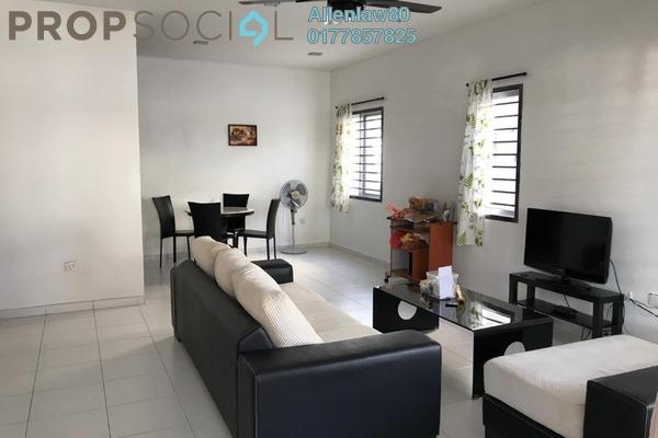 For Rent Terrace at Setia Indah, Tebrau Freehold Semi Furnished 4R/3B 1.7k
