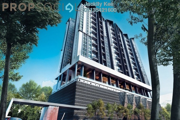 For Sale Condominium at The Andes, Bukit Jalil Freehold Fully Furnished 3R/2B 700k