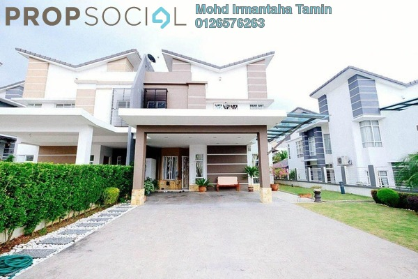 For Sale Semi-Detached at Greenhill Residence, Shah Alam Freehold Semi Furnished 5R/6B 1.25m