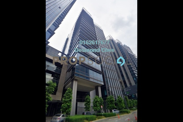 For Rent Office at KL Eco City, Mid Valley City Freehold Fully Furnished 0R/0B 3.31k