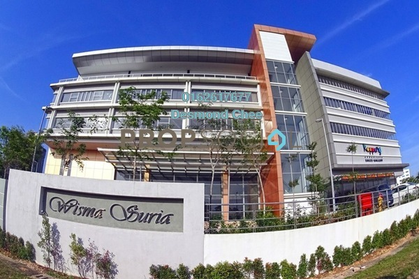 For Rent Office at Wisma Suria, Cyberjaya Freehold Fully Furnished 0R/0B 2.4k