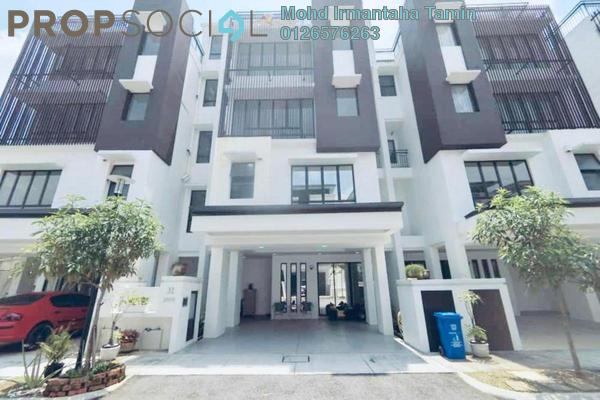 For Sale Townhouse at 50 Residensi, Cahaya SPK Freehold Semi Furnished 4R/3B 950k
