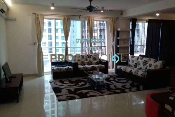 For Rent Serviced Residence at Ritze Perdana 2, Damansara Perdana Freehold Fully Furnished 1R/1B 1.7k