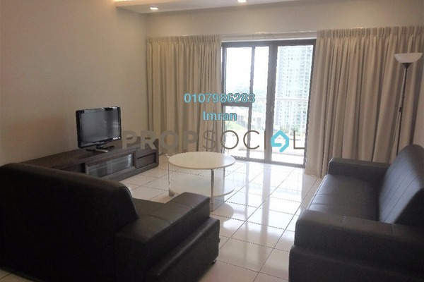 For Rent Condominium at Angkupuri, Mont Kiara Freehold Fully Furnished 3R/2B 3.3k