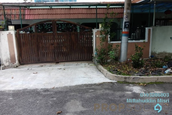 For Sale Terrace at Taman Sri Segambut, Segambut Freehold Fully Furnished 3R/2B 670k