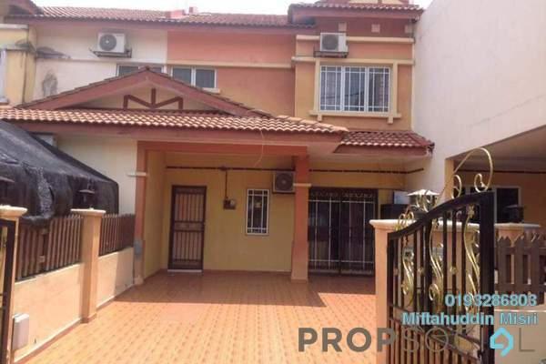 For Sale Terrace at Seri Pristana, Sungai Buloh Freehold Semi Furnished 3R/3B 350k