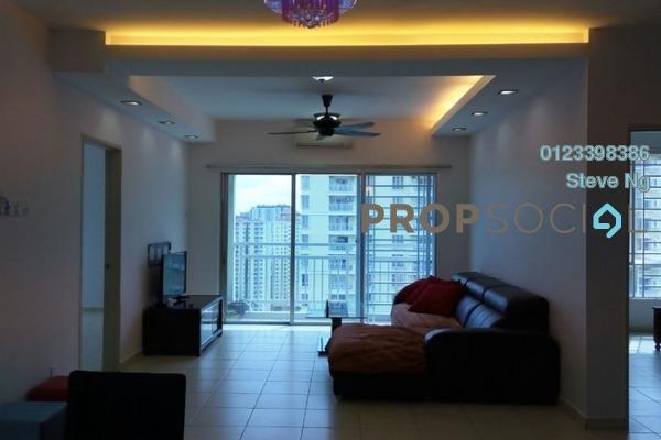 For Rent Condominium at Platinum Lake PV12, Setapak Freehold Fully Furnished 4R/2B 1.9k