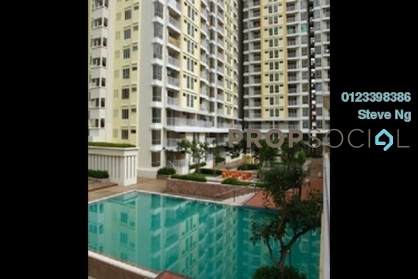 For Rent Condominium at Platinum Lake PV15, Setapak Leasehold Semi Furnished 3R/2B 2.1k