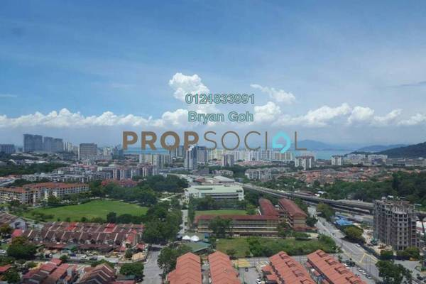 For Rent Condominium at BJ Court, Bukit Jambul Freehold Fully Furnished 3R/2B 1.1k