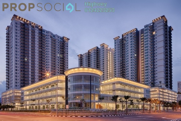For Sale Condominium at Elit Heights, Bayan Baru Freehold Fully Furnished 4R/3B 1.15m